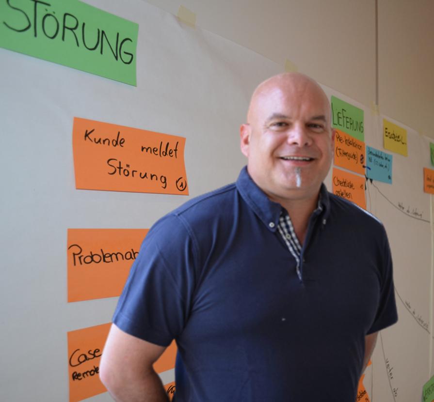 Steffen Gamerdinger - Experte für Servicebetriebshandbcuh