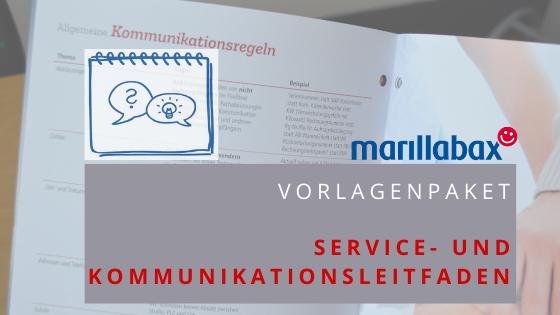 Produktbild Vorlagenpaket Kommunikationsleitfaden
